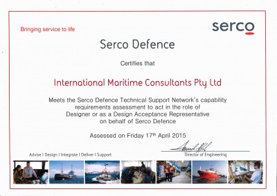 Quality-assured design and engineering meets Serco's defence requirements